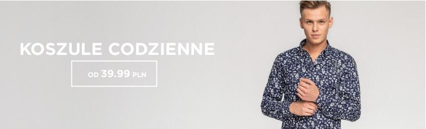 f362e3b827b4 Koszule męskie codzienne – modne koszule - sklep Ozonee