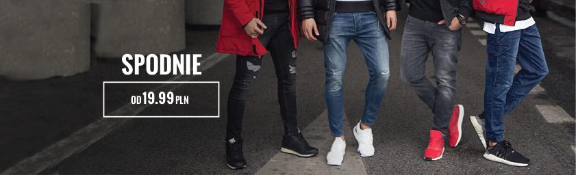 dd74c703 Spodnie męskie dresowe, spodnie baggy dla mężczyzn – sklep Ozonee