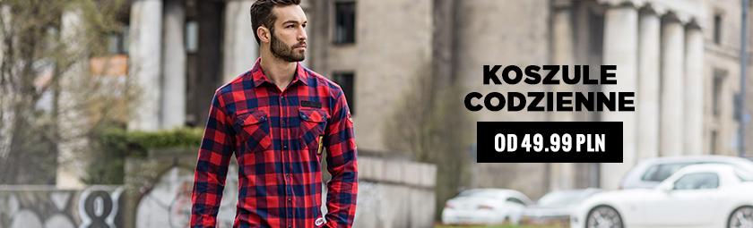 582e4281b32f24 Koszule męskie codzienne z długim rękawem – sklep Ozonee