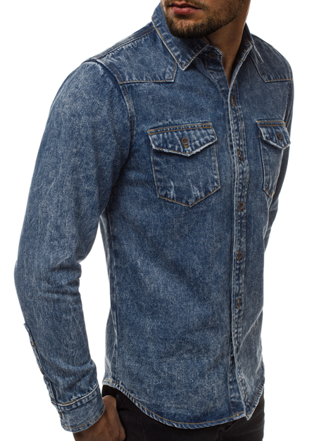 6f10a857638cd Koszule męskie codzienne – modne koszule - sklep Ozonee
