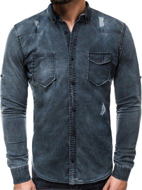 d6bb4011c Koszule jeansowe męskie, modne i tanie – sklep internetowy Ozonee